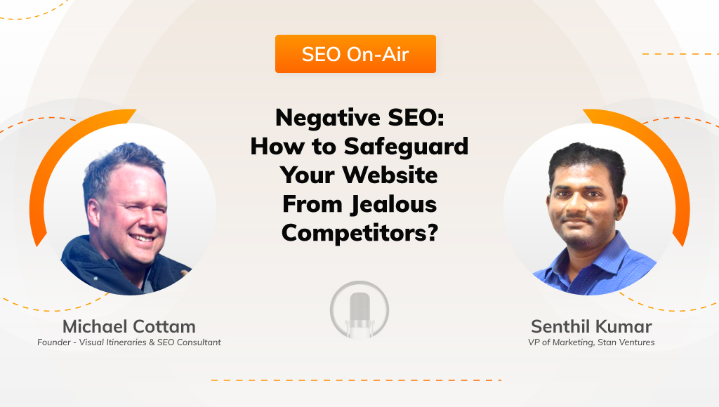 Negative SEO Podcast @ Stan Ventures